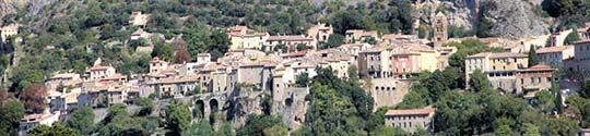 Moustiers-locations.fr vue sur Moustiers